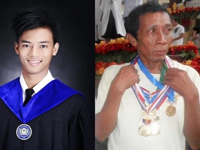LOOK: Crying father with medals goes viral again; find out why