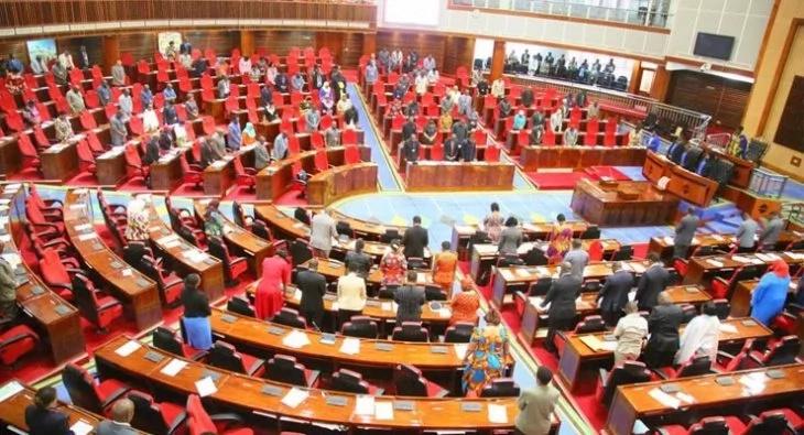 MPs scamper to safety after power bank explosion inside Parliament