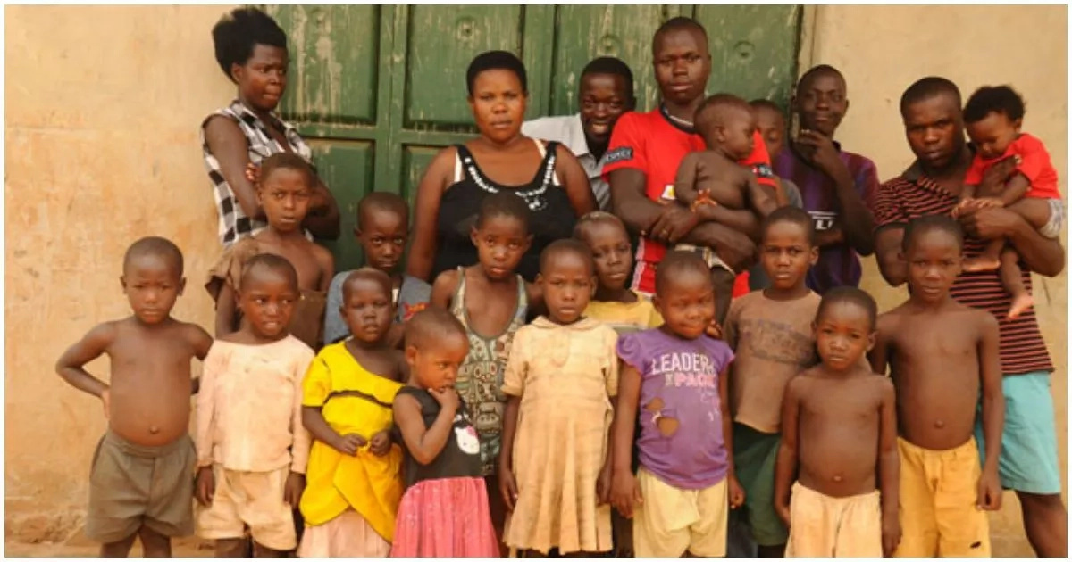 Gobe! 37-year-old woman gives birth to 38 children (photos)