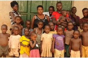 Meet Ugandan mother, 37, who has given birth to an astonishing 38 children (photos)