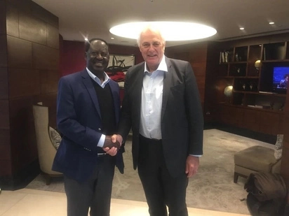 Details of RAILA Odinga's UK meeting that has sparked controversy