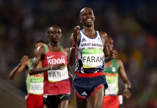 Mo Farah beats Kenyans at the Rio Olympics