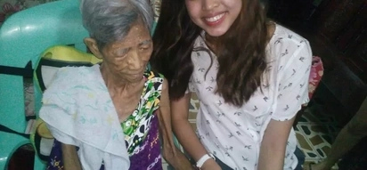 Ang bait mo talaga! Maine Mendoza grants senior citizen's wish