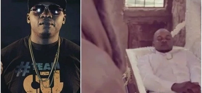 Rapper Khaligraph Jones leaves everyone confused after 'rising from the dead'