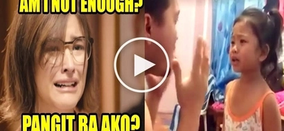 Pwedeng mag artista! Pinay girl reenacts Liza Soberano's viral scene from 'My Ex and Whys' with his father