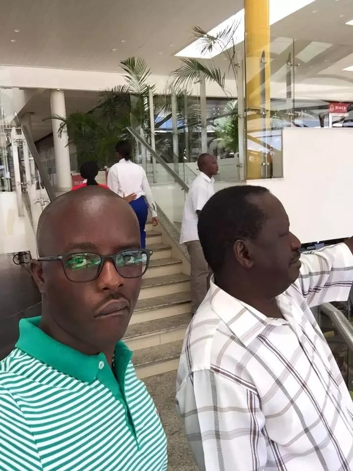Controversial Kenyan blogger exposes Raila Odinga's son as a con