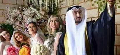 This man married 4 women on the same day. The reason will stun you!