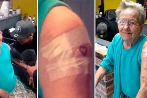 Une grand-mère de 79 ans qui était portée disparue a été retrouvé entrain de se faire son premier tatouage
