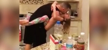 She thought her husband and daughter were cooking. Then she saw this (photos, video)