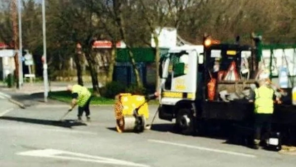 This Man Paints Penises On Potholes So The Council Has To Do Something