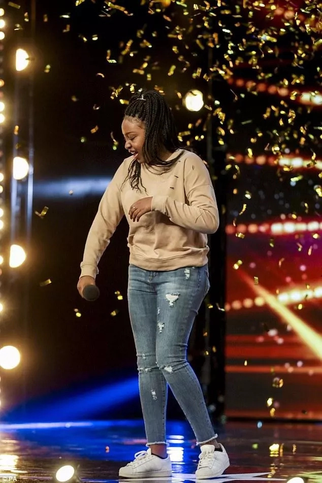 Girl, 15, with Kenyan roots wows judges at Britain's Got Talent show