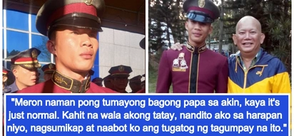 Valedictorian sa kabila ng hirap ng buhay! Domestic helper's son who hasn't met his father is top police graduate