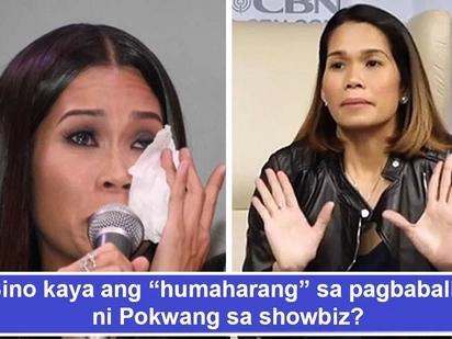 'Inaano ko ba kayo?' Pokwang nanlulumo sa mga taong 'parang humaharang' sa pagbabalik niya sa showbiz