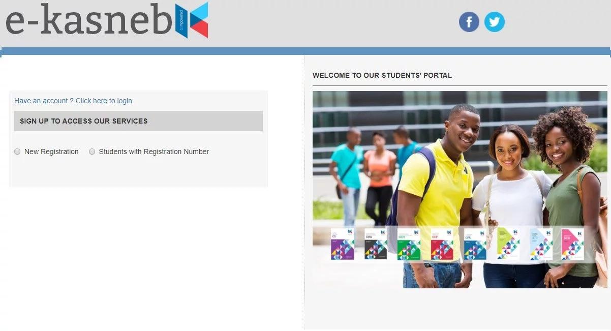 kasneb new portal registration