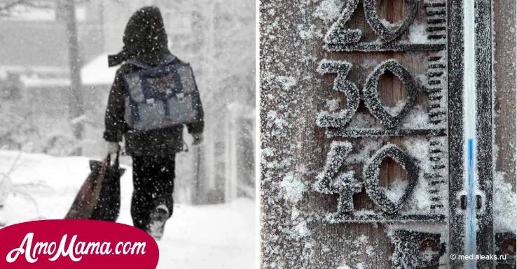 Esta niña lloraba porque no tenía dinero para viajar, pero fue expulsada del autobús a una temperatura helada de -30 grados...