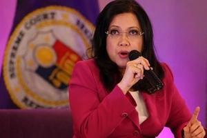 Chief Justice Sereno writes concerns over Duterte's list