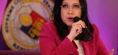 Chief Justice Sereno writes concerns over Duterte's list