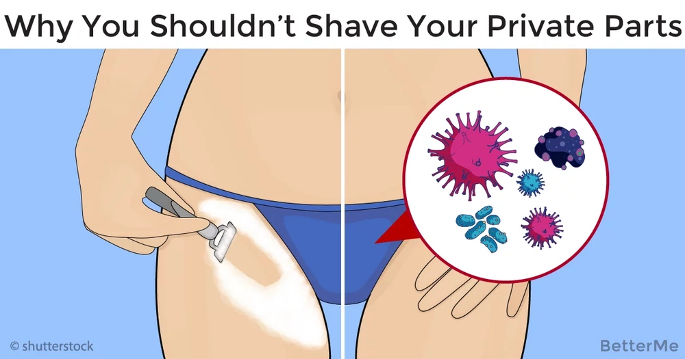 how to shave private parts