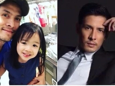 "Christian Vasquez spends quality time with her little princess ""Mikhaela""!"