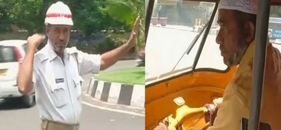 Heroic dad! Father juggles 2 tough jobs to raise enough cash for his daughters' education (photos)