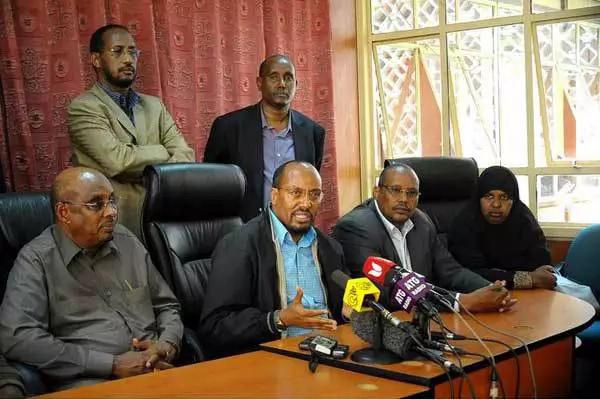 Billow Kerrow heeds to council of elders directive, won't vie