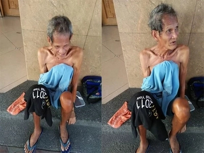 This man from Mercedes, Daet, Camarines Norte needs help!