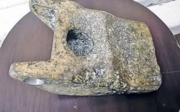 Scientists Have Dug Up A Piece Of An Ancient Alien Spaceship