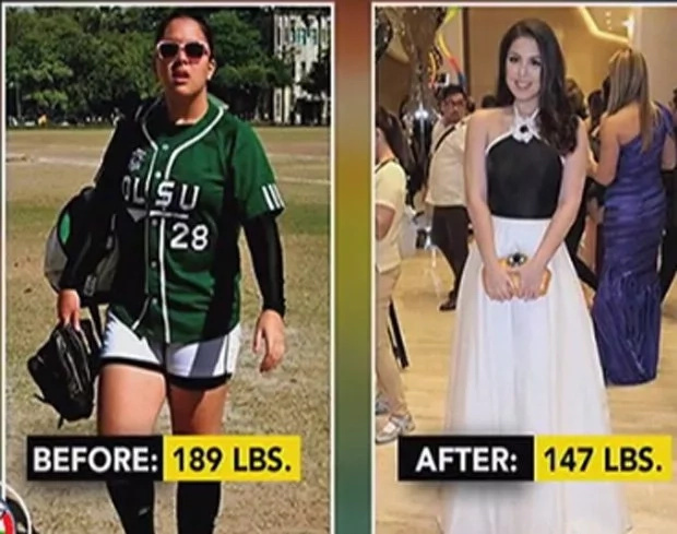 Ria Atayde lost weight through hard work