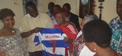 Uhuru reveals what he gave to ailing soccer legend, Joe Kadenge
