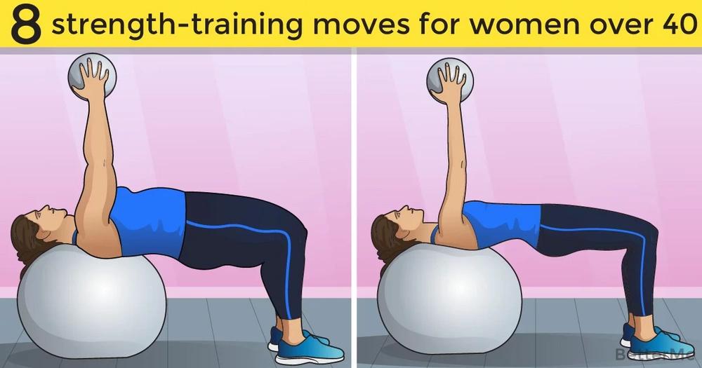 8 strength-training moves women over 40 should do