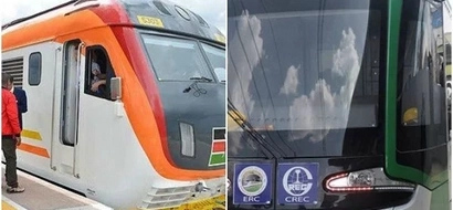 Magufuli belittles Uhuru Kenyatta's Madaraka Express trains with his Electric trains