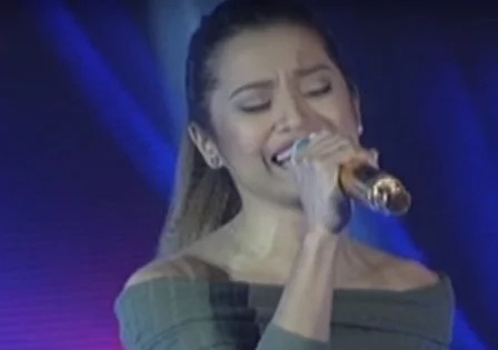 Netizens aplaud singing contestant's version of 'Wrecking Ball'