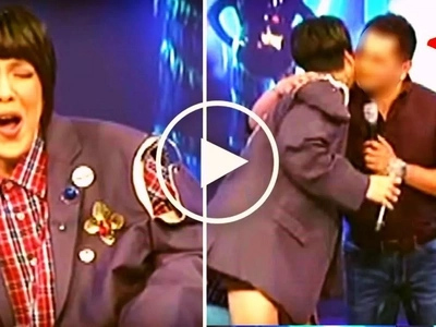 Vice Ganda gets a 'kilig moment' as his college crush at FEU visits him on GGV! Find out who he is!