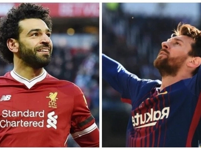 Mohamed Salah vs Lionel Messi to be the best in football
