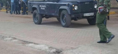 BREAKING: Terror suspect shot outside US embassy in Nairobi