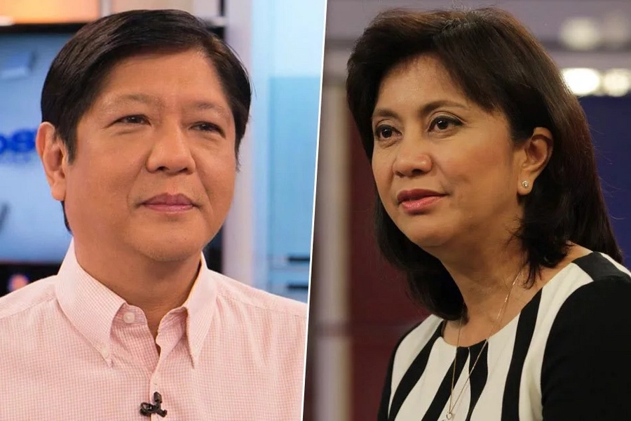 Marcos top VP bet; Robredo continues to rise