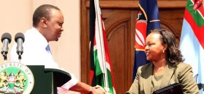 Waiguru Now Points Finger At Uhuru's Office For Her 'Troubles'