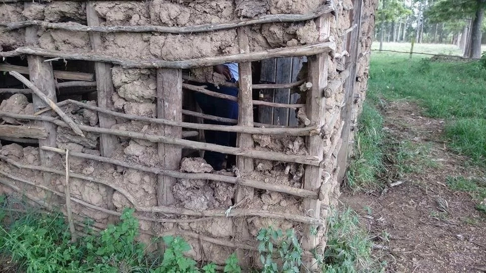 TV presenter takes Kenyas back to the mud-walled hut where he grew up and its is so touching