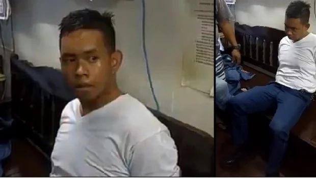 Anti-Erap cop uses gun inside Manila police HQ