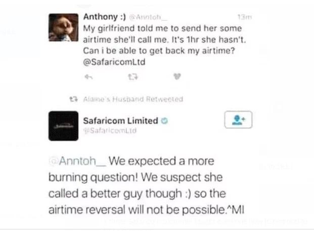 safaricom response