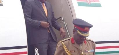 Uhuru Kenyatta aingia nchini Somalia chini ya ulinzi mkali