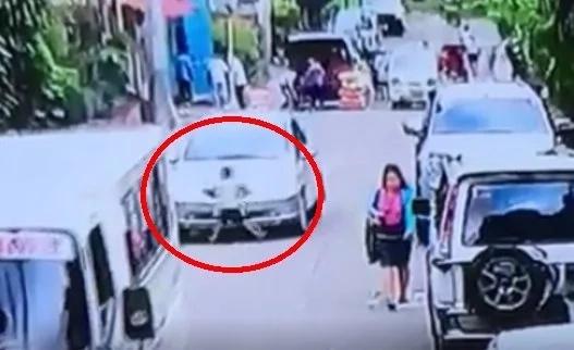 5 yr. old boy got ran over by a car
