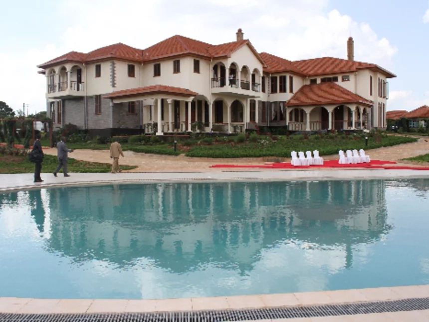 The plush insides of Deputy President William Ruto's multimillion house in Karen
