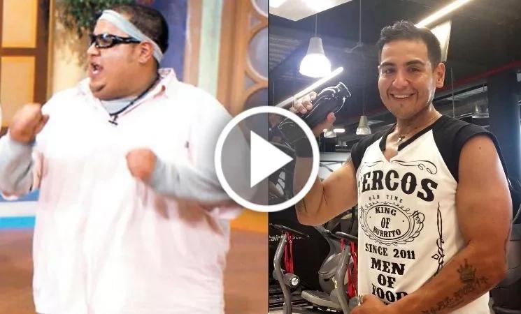 Rafita Balderrama, el presentador mexicano que perdió 90 kilos