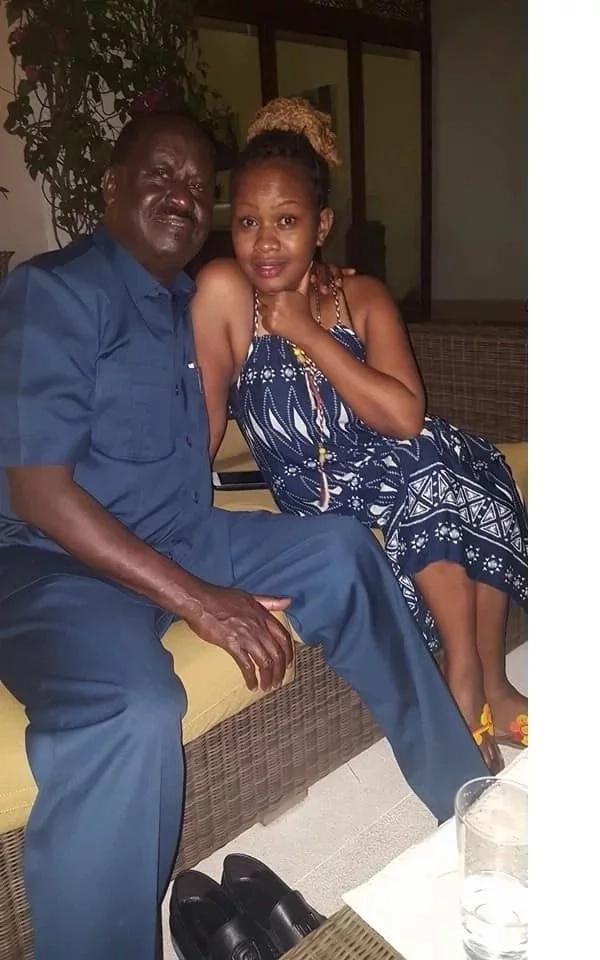 Mwanamke aliyedaiwa kwa kulala na Raila Odinga aeleza bayana kilichtokea
