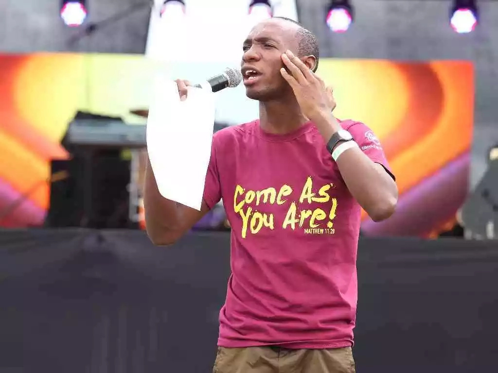 Embattled Gospel MC flees the country barely days after he was caught DEAD drunk