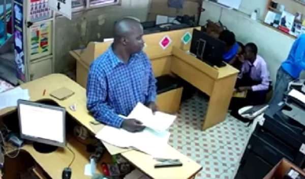 Man terrorizing Nairobians exposed after being caught stealing on camera