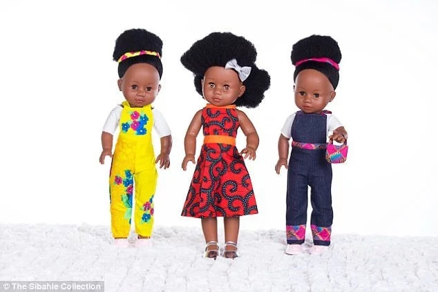 Daring! 2 friends open shop for black dolls despite being told they are UGLY, will never sell (photos)