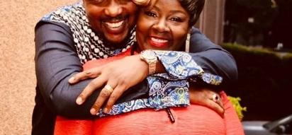 Goofy photos of love birds Allan and Kathy Kiuna on their 23rd anniversary prove marriage works