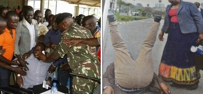 Two months after he was arrested at a GIRLS school at night, ODM MP involved in a fierce fist fight (Photos)
